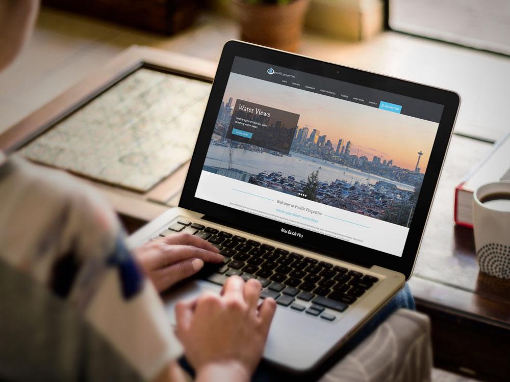 Pacific Properties Website Design