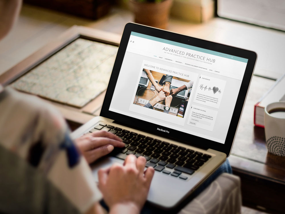 Advanced Practice Hub Website Design