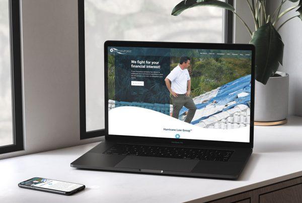 Hurricane Law Group Website Design
