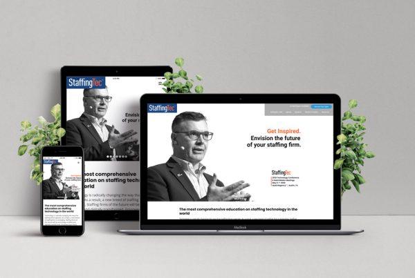 StaffingTec Website Design