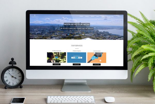 Seattle video production website design