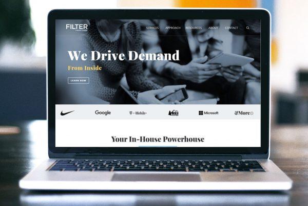 Filter Digital Website Design