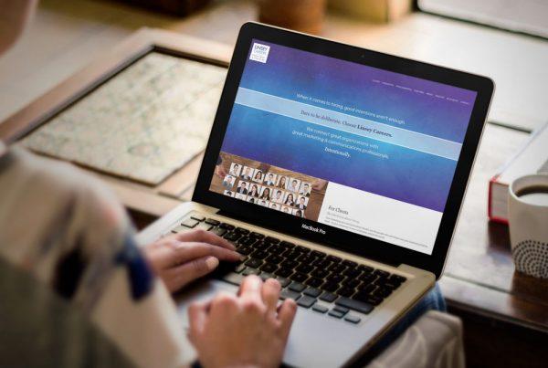 Linsey Careers website design