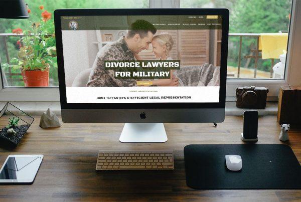 divorce website design