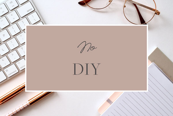 coach website - no DIY
